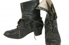 Ботинки хромовые женские 1920-е гг.