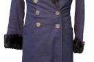 Пальто женское зимнее 1930-1950 гг.