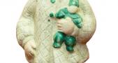 Игрушка детская «Девочка с куклой». Середина XX в.