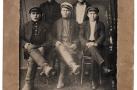 Группа призывников Сургута. 1941 г.