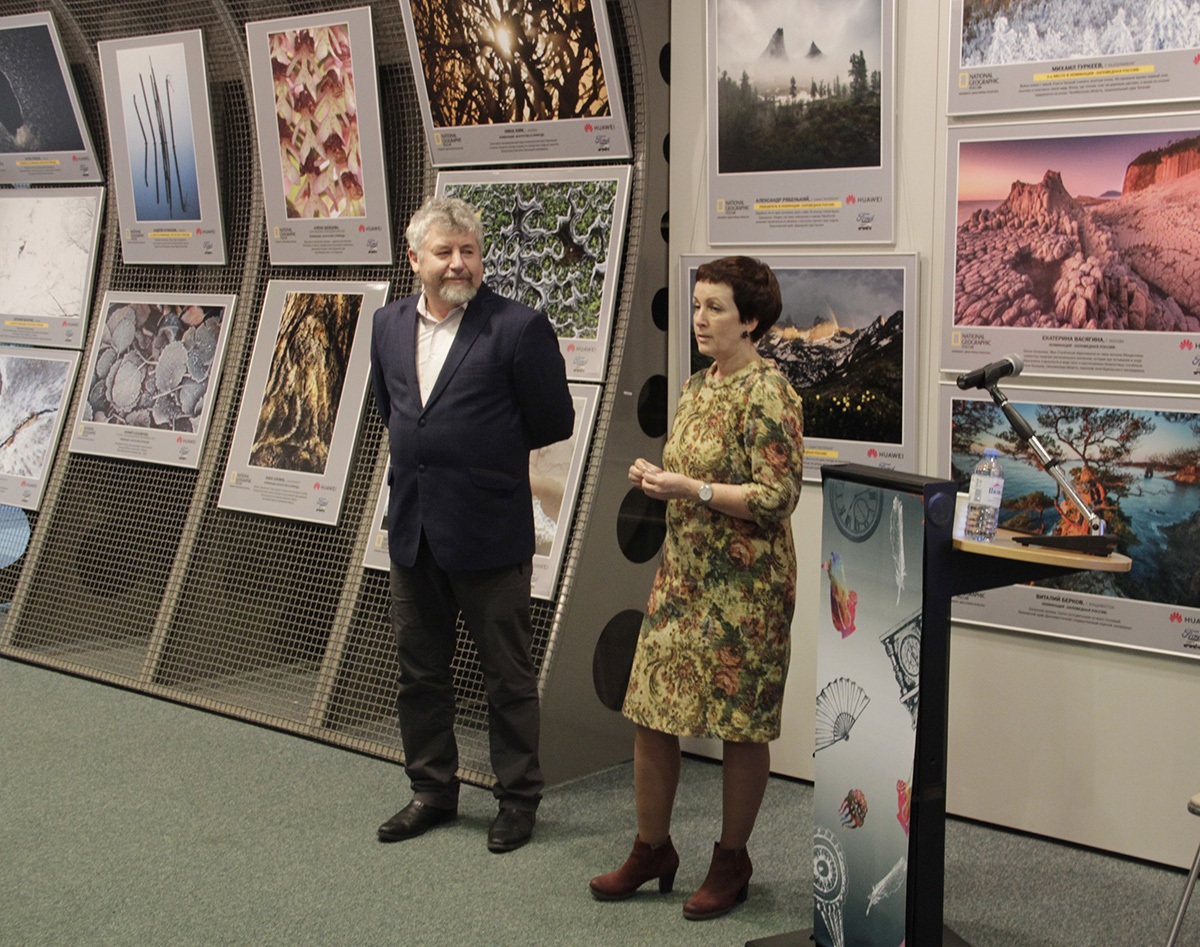 Директор заповедника «Юганский» с директором музея