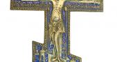 Крест напрестольный. XIX в.