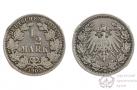 Монета 1/2 марки (Германия). 1905 г.