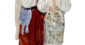 Скульптура «Вюбленная пара». 1960-1980 г. ЗХК Полонное.