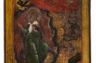 """Икона """"Образ Святого Пророка Илии"""". Конец XVIII - начало XIX вв."""