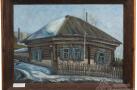 Люлько К.Т. «Сургут. Дом с палисадником». 1970-80-е гг.