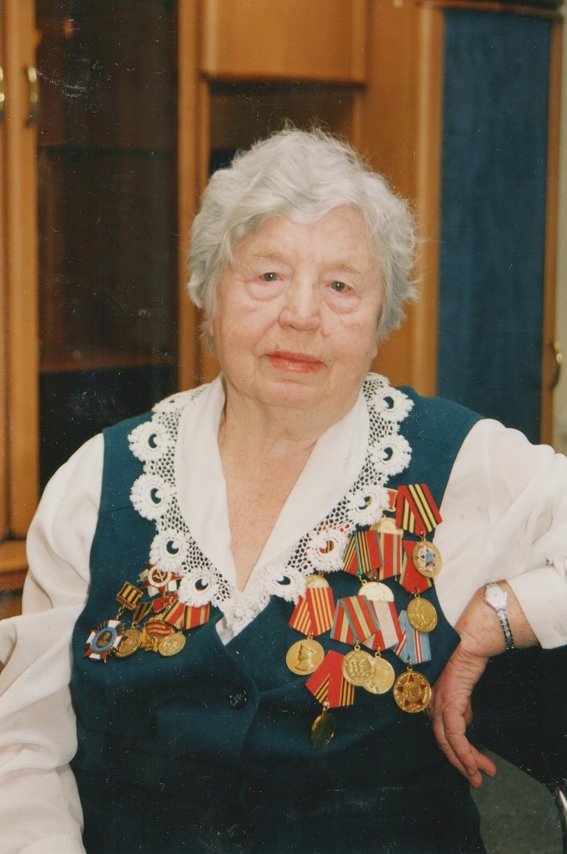 Л.Я. Вохминцева. Портретное фото