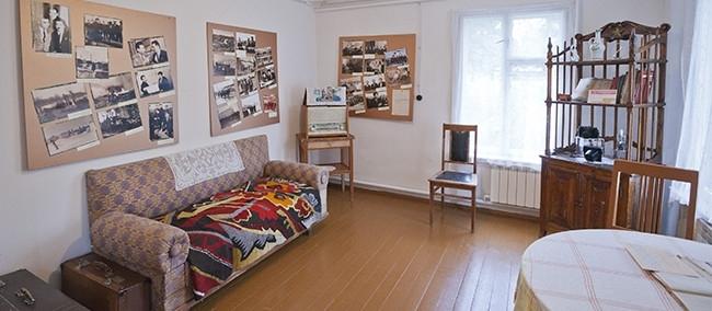 Дом Ф.К. Салманова. Интерьер комнаты.