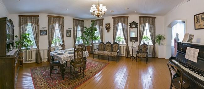 Дом Ф.К. Салманова. Интерьер гостиной.