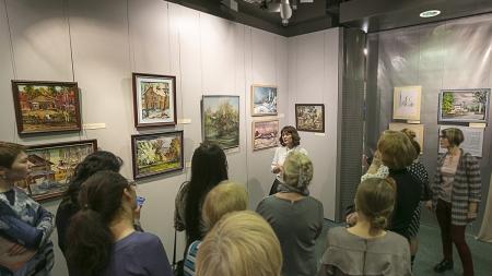 Экскурсия по выставке.
