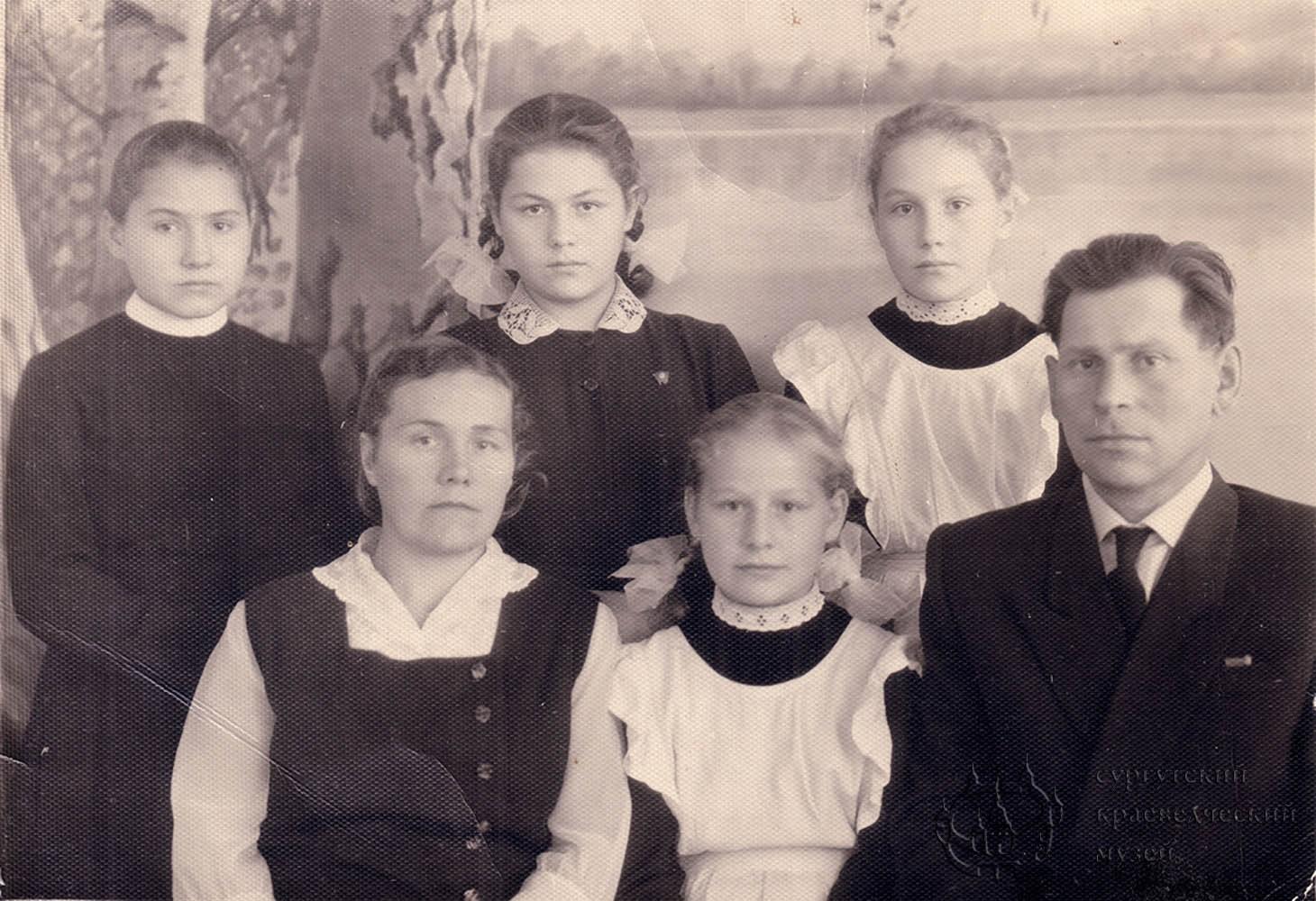 Проводников Н.А. с семьей